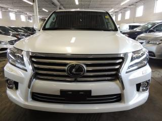 Used 2014 Lexus LX 570 360 CAMERA, NAVI, LEATHER for sale in Mississauga, ON