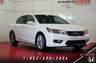 Used 2014 Honda Accord V6 TOURING + NAVI + CUIR for sale in St-Basile-le-Grand, QC