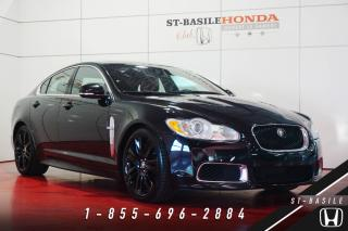 Used 2010 Jaguar XF R SUPERCHARGED + 20'' + CAMERA + CRUISE AD for sale in St-basile-le-grand, QC