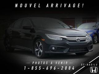 Used 2016 Honda Civic TOURING + GARANTIE + WOW! for sale in St-Basile-le-Grand, QC