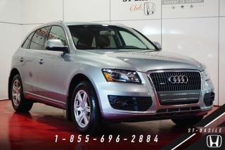 Used 2011 Audi Q5 PREMIUM + TOIT PANO + 2.0T + WOW!! for sale in St-Basile-le-Grand, QC