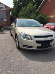 Used 2011 Chevrolet Malibu LT New tires, certified, 4 Cylinder for sale in Bradford, ON