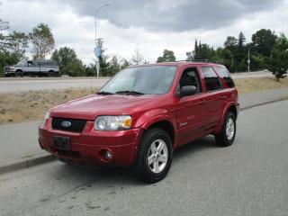 Used 2006 Ford Escape HYBRID for sale in Surrey, BC