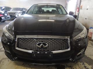 Used 2014 Infiniti Q50 NAVI, BACK UP CAMERA, SUNROOF for sale in Mississauga, ON