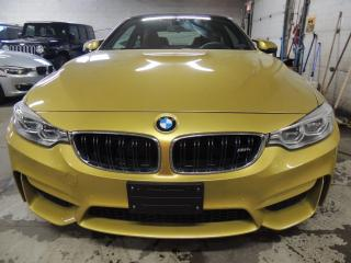 Used 2015 BMW M4 NAVI, RED INTERIOR, BACK UP CAMERA for sale in Mississauga, ON