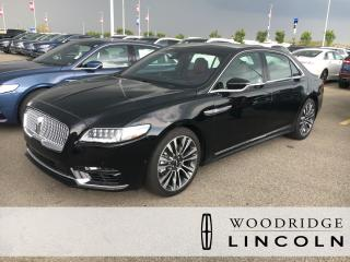 New 2018 Lincoln Continental Reserve CLIMATE PACKAGE, PARK ASSIST, HUD for sale in Calgary, AB