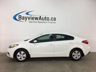 Used 2014 Kia Forte 1.8L LX - 6 SPD! BLUETOOTH! PWR GROUP! CRUISE! for sale in Belleville, ON