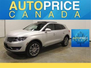 Used 2016 Lincoln MKX Reserve NAVI|PANORAMIC ROOF|LEATHER for sale in Mississauga, ON