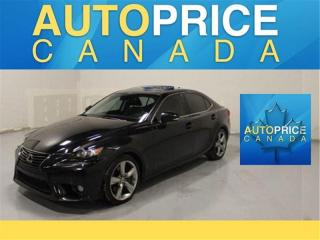 Used 2014 Lexus IS 350 NAVIGATION AWD MOONROOF LEATHER for sale in Mississauga, ON