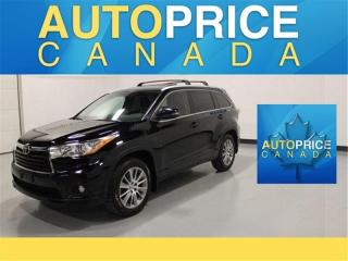 Used 2015 Toyota Highlander XLE|NAVI|7PASS|MOONROOF for sale in Mississauga, ON