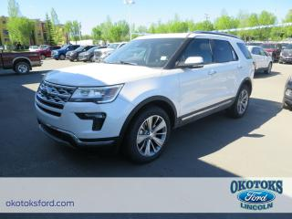 New 2018 Ford Explorer Limited 2.3l Ecoboost, Loaded 6 Seater SUV for sale in Okotoks, AB