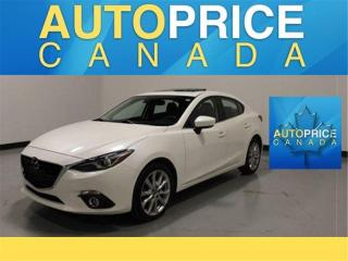 Used 2015 Mazda MAZDA3 GT|LEATHER|NAVI|HEADS UP|MOONROOF|LUXURY & TECH PKG for sale in Mississauga, ON