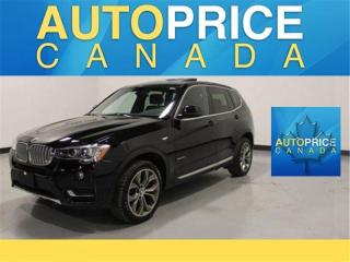 Used 2017 BMW X3 xDrive28i NAVIGATION|PANORAMIC ROOF| for sale in Mississauga, ON