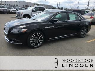 New 2018 Lincoln Continental Reserve for sale in Calgary, AB
