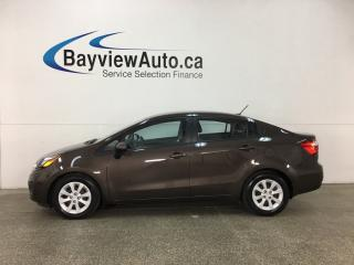 Used 2015 Kia Rio LX+ - AUTO! HTD SEATS! ECO MODE! BLUETOOTH! CRUISE! for sale in Belleville, ON