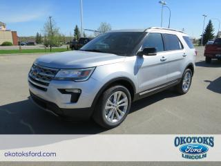 New 2018 Ford Explorer 3.5L TIVCT V6 Engine, XLT Tech Package, Safe and Smart Package for sale in Okotoks, AB