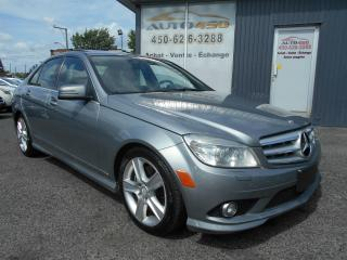 Used 2010 Mercedes-Benz C-Class ***4MATIC,CUIR,TOIT OUVRANT*** for sale in Longueuil, QC