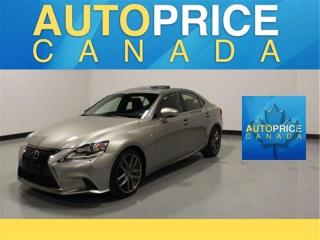Used 2015 Lexus IS 250 F-SPORT|NAVIGATION|RAER CAM for sale in Mississauga, ON
