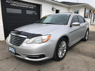 Used 2012 Chrysler 200 Limited for sale in Kingston, ON