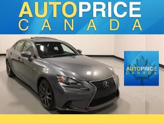Used 2014 Lexus IS 250 F-SPRT|NAVIGATION|REAR CAM|LEATHER for sale in Mississauga, ON