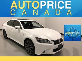 Used 2014 Lexus GS 350 F-SPORT|NAVIGATION|REAR CAM for sale in Mississauga, ON