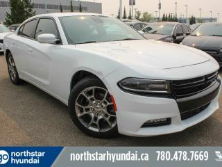 Used 2015 Dodge Charger RALLYE/AWD/REDLEATHER/TECHPKG for sale in Edmonton, AB