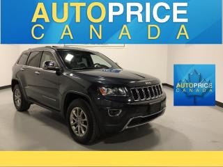 Used 2014 Jeep Grand Cherokee Limited SUNROOF|POWER & HEATED SEATS|KEYLESS ENTRY for sale in Mississauga, ON