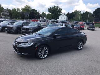 Used 2016 Chrysler 200 S | GREAT VALUE | V6 | SAVE YOUR MONEY | LOW KMS for sale in Mitchell, ON