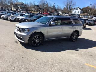 Used 2018 Dodge Durango |V6|Loaded|Leather|Sunroof|GT|AWD for sale in Mitchell, ON