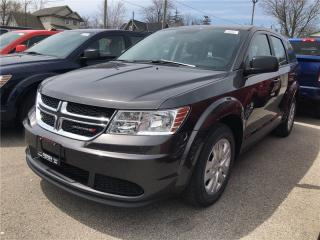 New 2018 Dodge Journey Canada Value Package | BEST VALUE OUT THERE for sale in Mitchell, ON