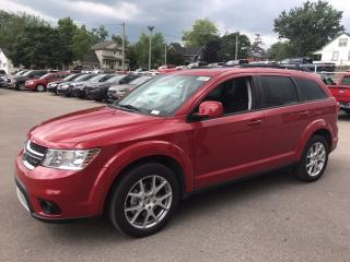 New 2018 Dodge Journey SXT | V6 | FWD | SAVE ON GAS for sale in Mitchell, ON