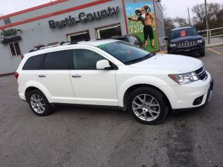 Used 2017 Dodge Journey GT|Leather|Remote Start|LOW KMS for sale in Mitchell, ON