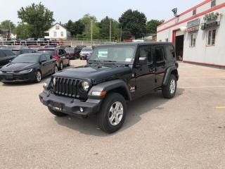 New 2018 Jeep All-New Wrangler Sport | 4X4 | HARD TOP | AUTO for sale in Mitchell, ON