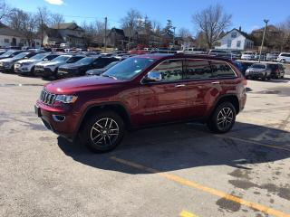 Used 2018 Jeep Grand Cherokee Leather|Sunroof|V6|4x4| Gorgeous loaded LTD for sale in Mitchell, ON