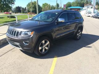 Used 2016 Jeep Grand Cherokee Limited **LEATHER, NAV, SUNROOF** for sale in Mitchell, ON