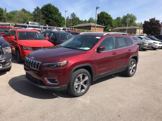 New 2019 Jeep Cherokee Limited | Leather | Trailer Tow Package | Sunroof for sale in Mitchell, ON