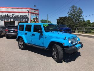 Used 2017 Jeep Wrangler Unlimited Sahara|NAV|Bluetooth|Remote Start| for sale in Mitchell, ON