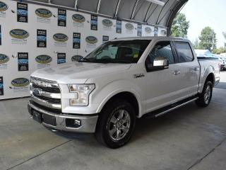 Used 2015 Ford F-150 Lariat- Moonroof, Leather interior,Back-up camera! for sale in Campbell River, BC