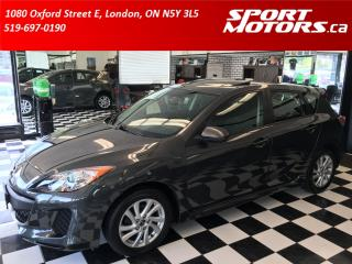 Used 2013 Mazda MAZDA3 GS-SKY+Hatchback+Sunroof+Heated Seats+AC+Bluetooth for sale in London, ON