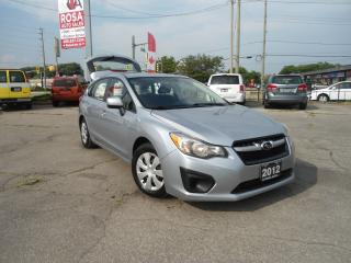 Used 2012 Subaru Impreza 5dr HB Man 2.0i AWD 1OWNER LOW KM SAFETY A/C PW PL for sale in Oakville, ON