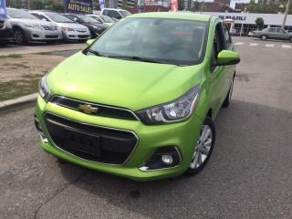 Used 2016 Chevrolet Spark LT, Backup Camera, BlyeTooth for sale in Toronto, ON