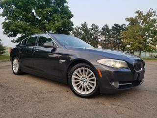 Used 2011 BMW 5 Series 535i xDrive for sale in Woodbridge, ON