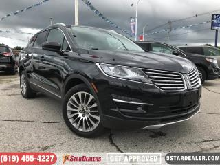 Used 2015 Lincoln MKC | AWD | LEATHER | NAV | PANO ROOF for sale in London, ON