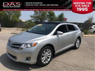 Used 2014 Toyota Venza XLE LEATHER/PANORAMIC SUNROOF/REAR VIEW CAMERA for sale in North York, ON