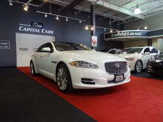 Used 2015 Jaguar XJ 3.0L PREMIUM LUXURY / NAVIGATION / BACK UP CAMERA for sale in North York, ON