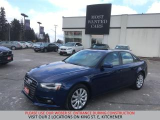 Used 2014 Audi A4 Komfort   TAN LEATHER   XENON LIGHTS for sale in Kitchener, ON