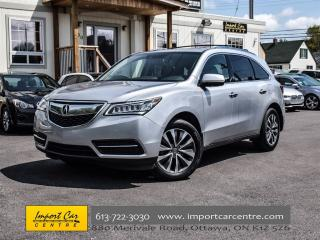 Used 2015 Acura MDX Nav Pkg BLINDSPOT ONLY 67KKMS WOW!! for sale in Ottawa, ON