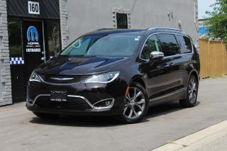 Used 2018 Chrysler Pacifica Limited*Rare Color*20Wheels*Dual BluRay*PanoRoof* for sale in Mississauga, ON