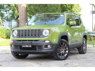 Used 2016 Jeep Renegade 75th Anniversary Ed*Sunroof*Rem Start*H-Seats*RARE for sale in Mississauga, ON