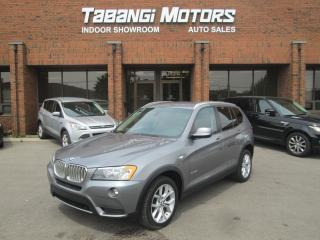 Used 2012 BMW X3 NO ACCIDENT | XDRIVE | LEATHER | REAR CAMERA | LOW KM! for sale in Mississauga, ON